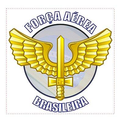 Adesivo FAB - Força Aérea Brasileira