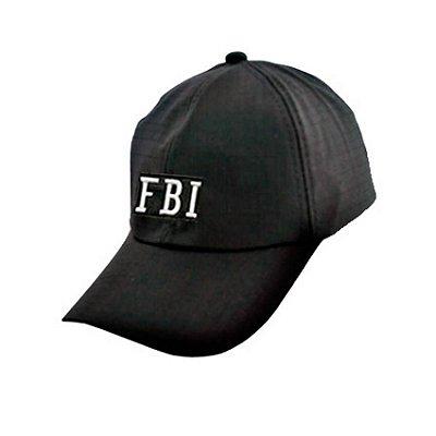 Boné FBI - Preto