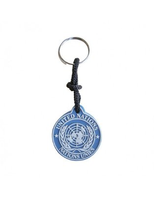 Chaveiro Emborrachado ONU