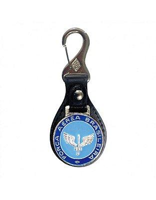 Chaveiro Brasão Alado FAB - Azul