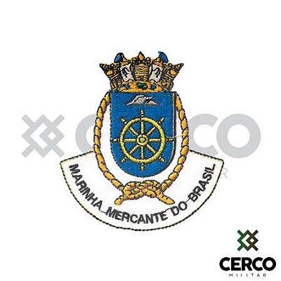 Bordado Termocolante Bandeira Marinha Mercante