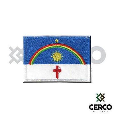 Bordado Termocolante Bandeira de Pernanbuco