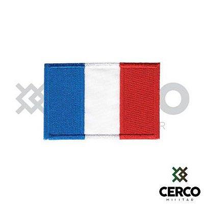 Bordado Termocolante Bandeira da França