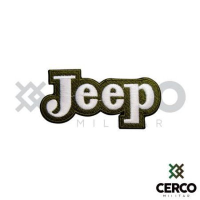 Bordado Termocolante Jeep - 2