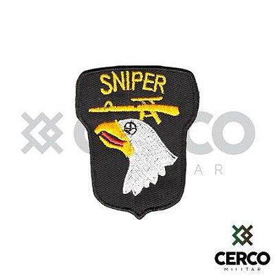 Bordado Termocolante Sniper Águia
