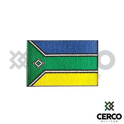 Bordado Termocolante Bandeira do Amapá