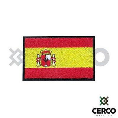 Bordado Termocolante Bandeira da Espanha