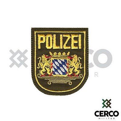 Bordado Termocolante Polizei