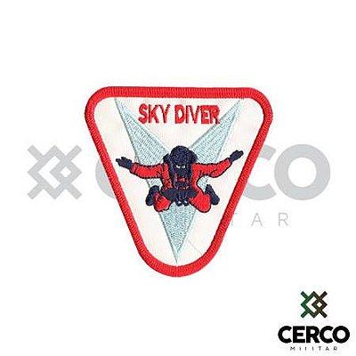 Bordado Termocolante Sky Diver