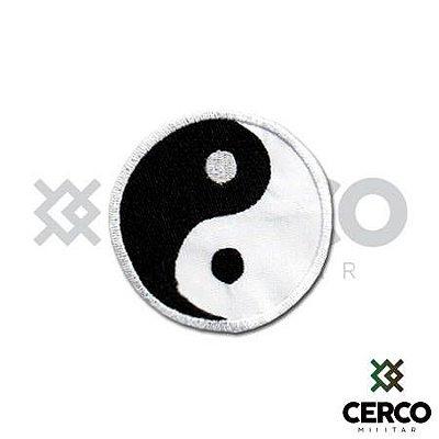 Bordado Termocolante Yin & Yang