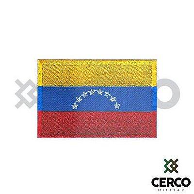 Bordado Termocolante Bandeira da Venezuela