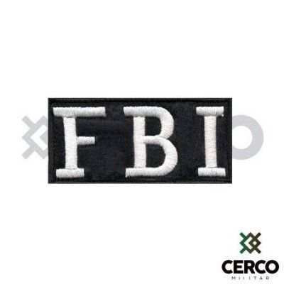 Bordado Termocolante FBI S.W.A.T. Team