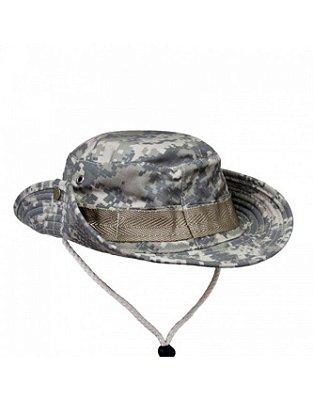 Chapéu Boonie Hat Camuflado Army Combat