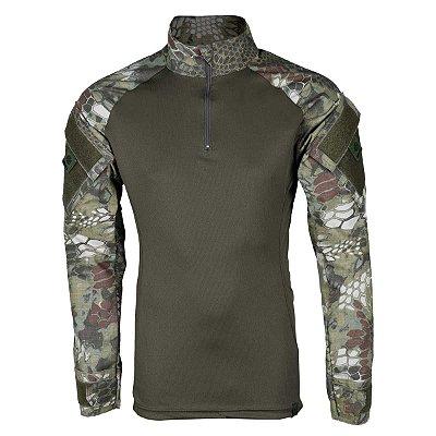 Combat Shirt Camuflado Mandrak