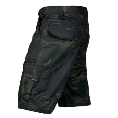 Bermuda Tática Hunter Bélica Multicam Black