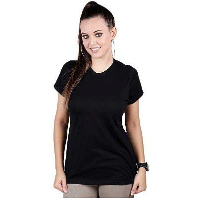 Camiseta Feminina Soldier Bélica Preta