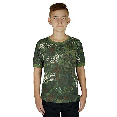 Camiseta Soldier Kids Bélica Kryptek Mandrak
