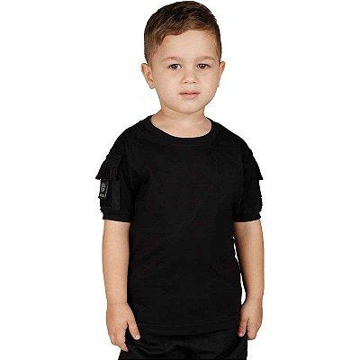 Camiseta Ranger Kids Bélica Preta