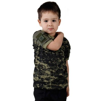 Camiseta Ranger Kids Bélica Digital Pântano