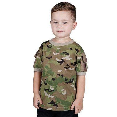 Camiseta Ranger Kids Bélica Multicam
