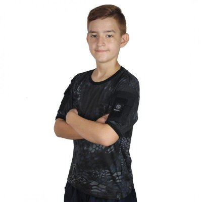 Camiseta Ranger Kids Bélica Kryptek Typhon