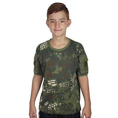 Camiseta Ranger Kids Bélica Kryptek Mandrake