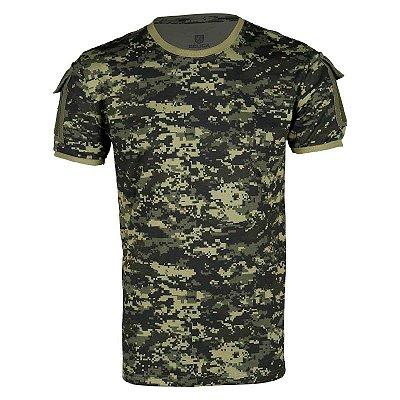 Camiseta Masculina Ranger Bélica Digital Pântano