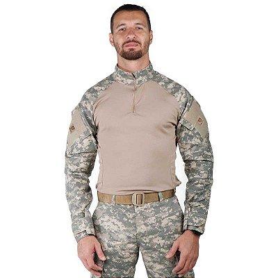 Combat Shirt Masculina Bélica Digital Areia