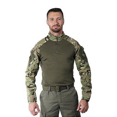Combat Shirt Masculina Bélica Multicam