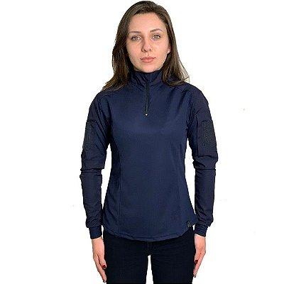 Combat Shirt Feminina Bélica Azul