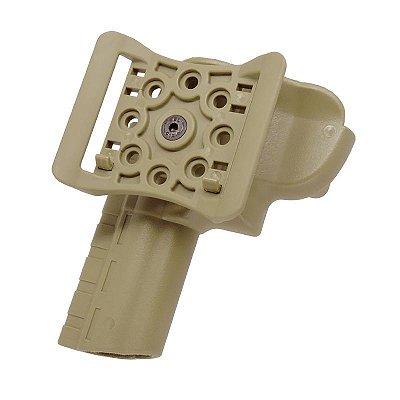 DUPLICADO - Coldre Revólver I Passador em Polímero Bélica