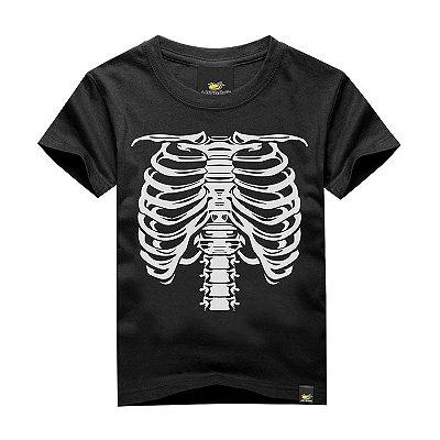 Camiseta Infantil Half Face