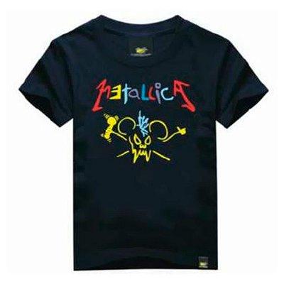 Camiseta Infantil Metallica