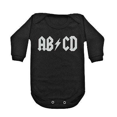Body Manga Longa ABCD (AC/DC)