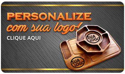 Personalize com sua logo