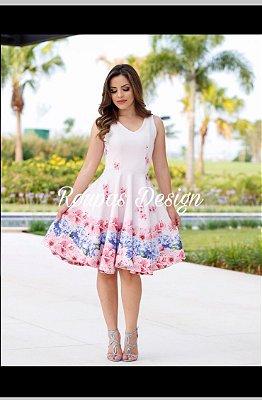 Vestido princesa rosa