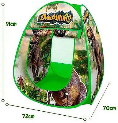 Barraca Casa Toca Cabana Dobrável Dinossauro 91 Cm De Altura