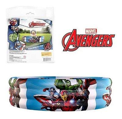 Piscina Inflável Infantil Vingadores Marvel 130 Litros