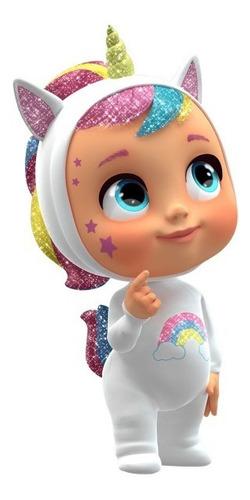 Boneca Cry Babie Dreamy Fantasia Unicornio Chora De Verdade