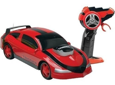 Carrinho De Controle Remoto Garagem S.a Trigger 7 Funçôes - Vermelho