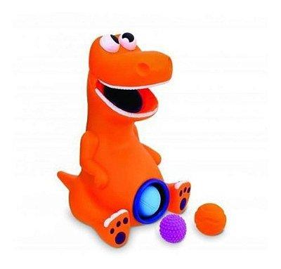 Dinossauro Baby Rex Bolinhas Brinquedos Educativo 40 Cm