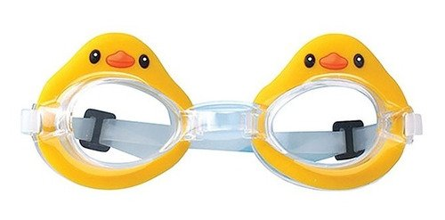 Oculos De Mergulho Pato Patinho Infantil Amarelo Com Fecho