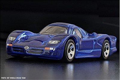 Carrinho Hot Wheels - Nissan R390 Gti Grx35 Azul Edição 2021