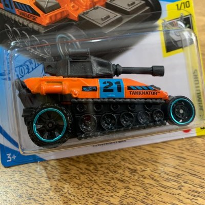 Carrinho Hot Wheels Tanknator - Gtc23 - Laranja Edição 2021