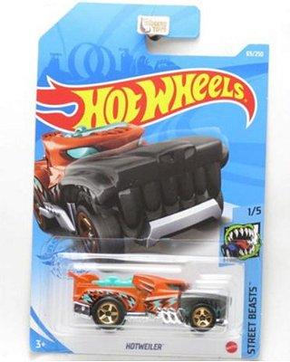 Carrinho Hot Wheels Hotweiler Street Beast 1/5 Edião 2021