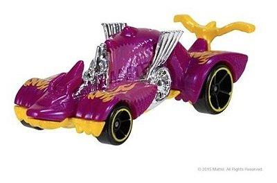 Carrinho Hot Wheels - Dragão Roxo Knight Draggin Ed 2020