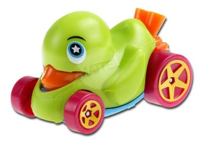 Carrinho Hot Wheels Pato Patinho Duck N´ Roll Verde Ed 2020