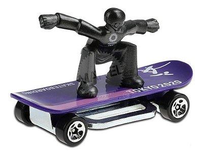 Carrinho Hot Wheels Skate Grom - Skateboard Tokyo 2020