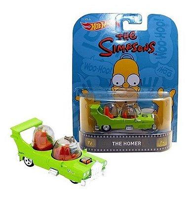 Carrinho Hot Wheels The Simpsons Retro The Homer Ed Luxo