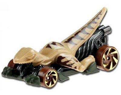 Carrinho Hot Wheels Veloci-racer 1/10 Velociraptor Ed 2020 - Cinza